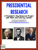 President's Day!  Presidential Research:  A Presidents Res