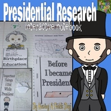 Presidential Research Interactive Notebook