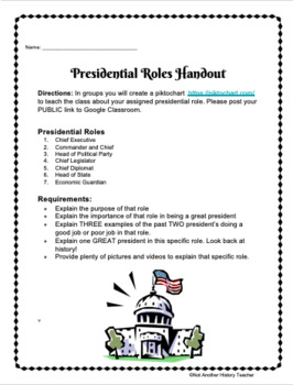 Presidential Roles Project