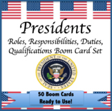 Presidential Roles Responsibilties Qualifications Boom Car