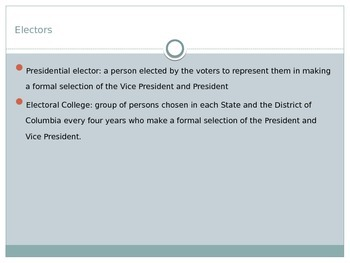 Presidential Selection Process PowerPoint