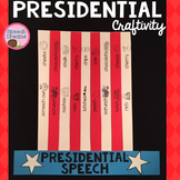 Presidents' Day Top Hat Speech Therapy Craft {articulation and language}