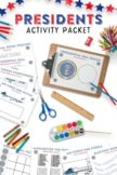 Presidential Themed Activity Packet - Learn about the Presidents!