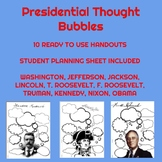 Presidential Thought Bubbles
