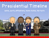 Presidential Timeline with Fun Facts