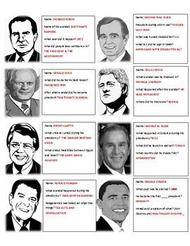 Presidential Timeline