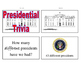 Presidential Trivia Brain Builder Task Cards