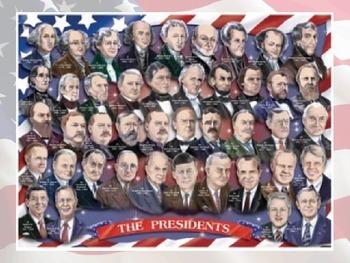 Presidential Trivia Ordering Fractions