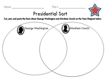 presidential venn diagram by swinging into first grade tpt rh teacherspayteachers com Human Eye Worksheet Inside the Eye Worksheet