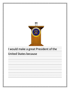 Presidential Writing Prompt
