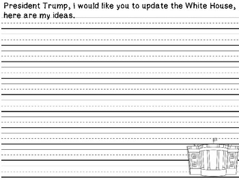 Presidential Writing Prompts