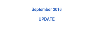 Presidential election 2016 - Power Point update Sept 2016 debates electoral vote