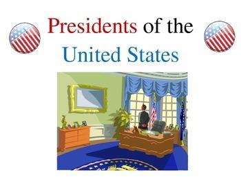 American Presidents 1-44 - Fact Sheets worksheet - executi