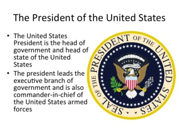 US Presidents Presentation