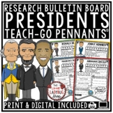 U.S Presidents Research Brochures & Presidents' Day Activities Biography Project