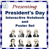 President's Day Interactive Notebook and Poster Set