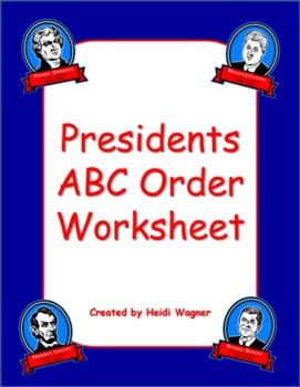 Presidents - ABC Order