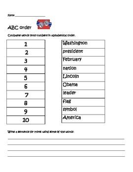 Presidents ABC order