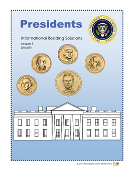Presidents Lesson 5 - Lincoln