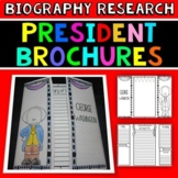 Presidents Research Brochures: Fun Presidents' Day Activit