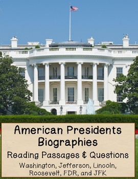 Presidents Biography Pack