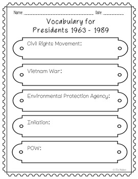 DIY Presidents Biography Research Project, Government, History, Politics