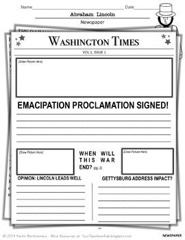 Presidents Bundle- NO PREP Mini Units {Lincoln, Washington, Jefferson}