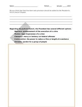 President's Checks and Balances