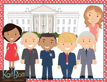 Presidents Bundle Clip Art