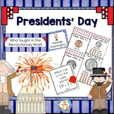 Presidents Day Activities ~ Grades 1 - 2