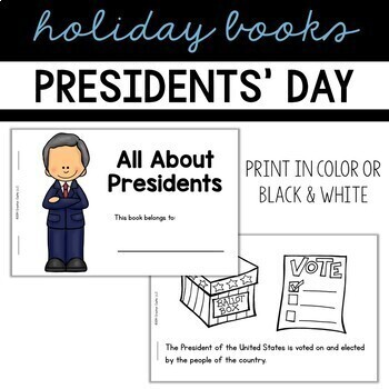 Presidents Day Guided Reading Books