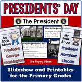 Presidents' Day Unit: PowerPoint and Printables