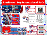 Presidents' Day 2016 Instructional Pack for Primary