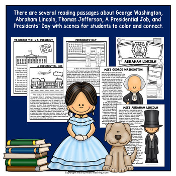 Celebrate American Presidents BUNDLE with Lincoln, Washington & Jefferson