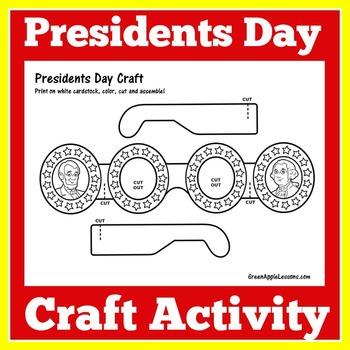 Presidents Day Activity   Presidents Day Craft   President
