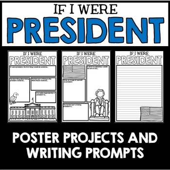 Presidents' Day Poster Project and Writing Activities
