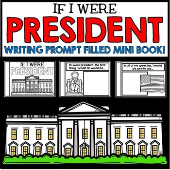 Presidents' Day Information and Writing Activity Mini Book