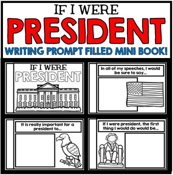Presidents' Day Information and Writing Activity Mini Book Project