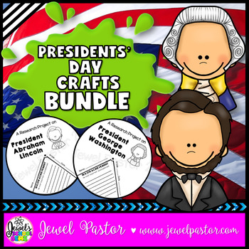 Presidents' Day Activities BUNDLE (Lincoln and Washington