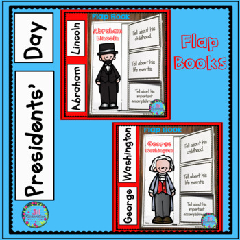 Presidents' Day Kindergarten, First and Second Grade Writing