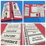 Presidents' Day Lapbook and Book Companion Bundle