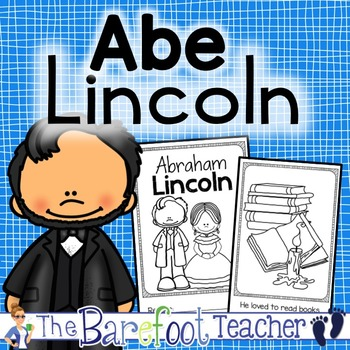 Abraham Lincoln Presidents Day Emergent Reader