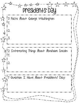 Presidents' Day 3, 2, 1
