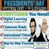 Presidents' Day Writing BUNDLE! Argumentative, Persuasive,