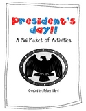 President's Day: A Mini Packet of Fun Activities