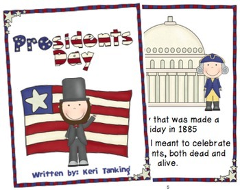 President's Day - A Poem About President's Day