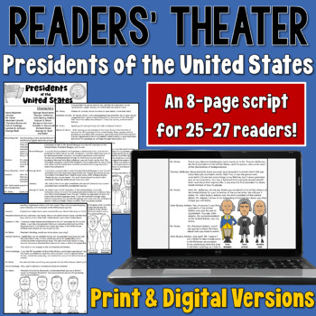 Presidents Day Readers' Theater script