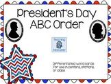 Patriotic ABC Order Center