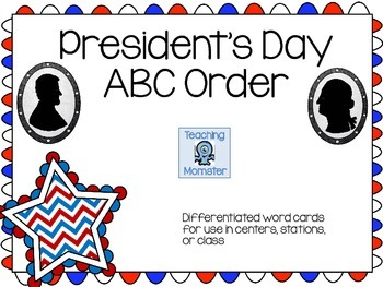 Patriotic ABC Order Center