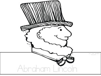 President's Day Abraham Lincoln Hat